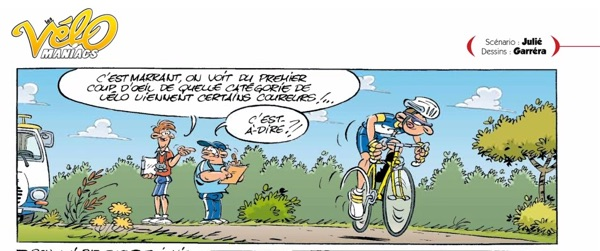 """Velomaniacs"" is a long-lasting comic about cyclists."