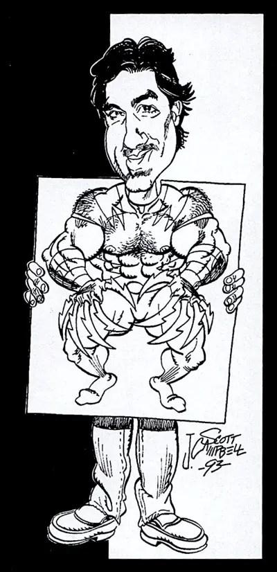 J. Scott Campbell draws Marc Silvestri