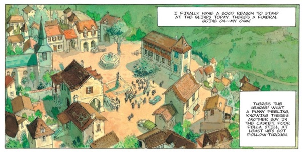 Town Square in The Reprieve looks like the small town in Beauty and the Beast