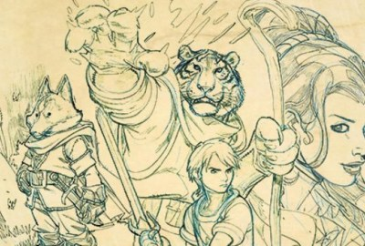 Tellos Tribute to Mike Wieringo cover detail