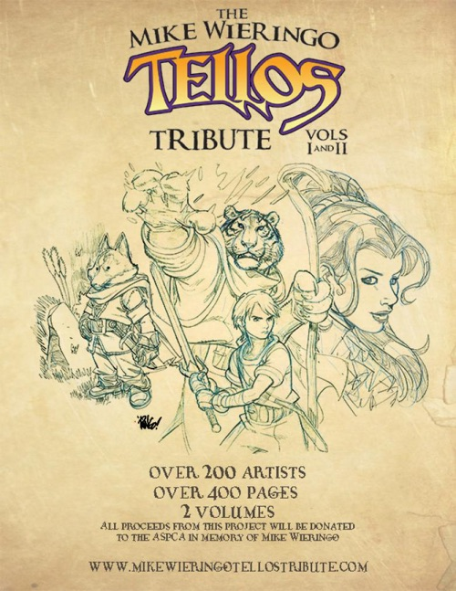 Mike Wieringo Tellos Tribute
