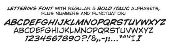 Comicraft Wild and Crazy font sample