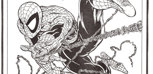 Header for Todd McFarlane autograph story