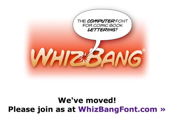 The Whizbang web page is a dead redirect