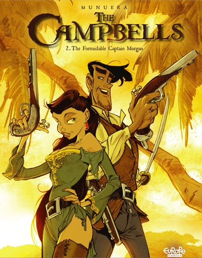The Campbells by Jose Luis Munuera cover of volume 2