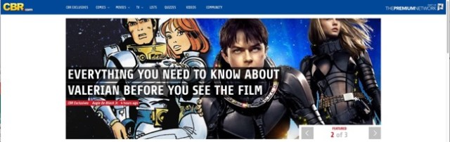 My Valerian Primer at CBR