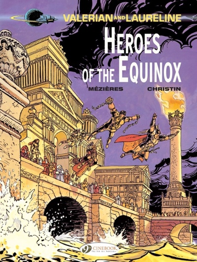 Valerian 9 Heroes of the Equinox cover