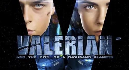 Valerian movie promo image