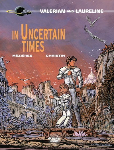 valerian v18 cover In Uncertain Times