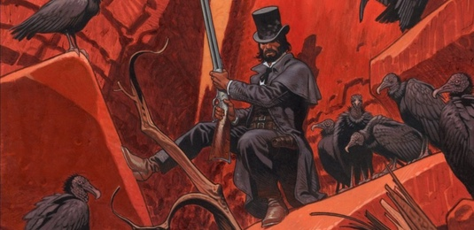 Undertaker v2 The Dance of the Vultures by Ralph Meyer cover detail