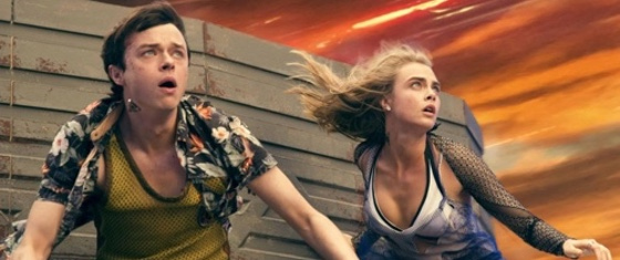Valerian and Laureline movie promo shot