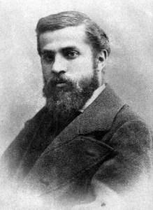 Antoni Gaudi1878 from Wikipedia