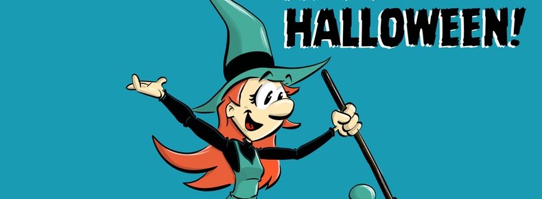 Melusine Happy Halloween header