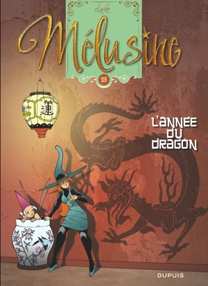 Melusine v25 cover by Clarke L'Annee du Dragon