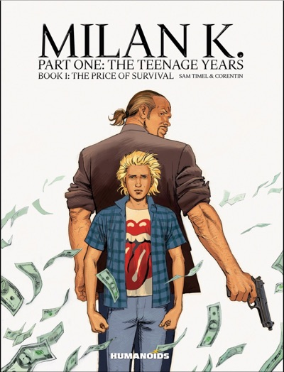 Milan K. volume 1 cover