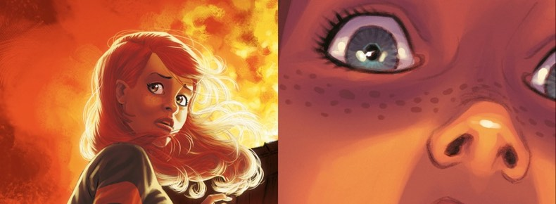 "Alter Ego v1 ""Camille"" cover detail"