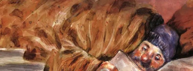 Blast v2 by Manu Larcenet painted cover detail