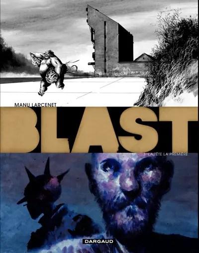 Blast v3 cover by Manu Larcenet