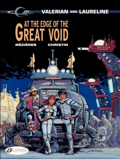 Valerian and Laureline v19 At the Edge of the Great Void cover by Jean Claude Mezieres