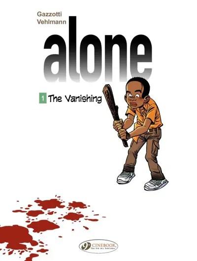 Alone v1 cover featuring Dodzi