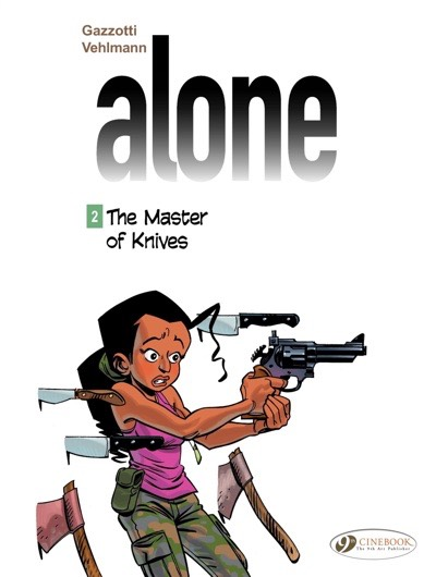 Alone v2 Master of Knives cover by Gazzotti