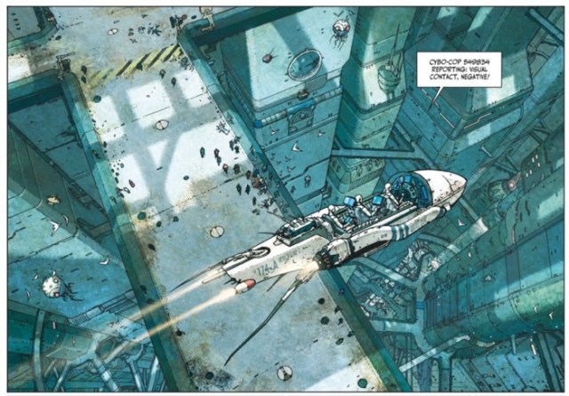 Ladronn draws amazing cityscapes in Final Incal v2