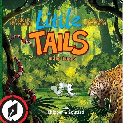 Little Tails cover from the book series also by Brremaud and Bertolucci