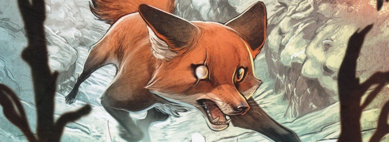 Love: The Fox cover detail for the header