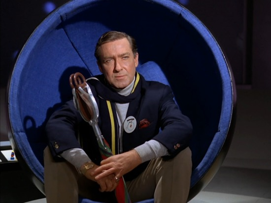 The Prisoner's Number Two had a similar chair