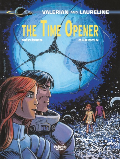 Valerian and Laureline v21 The Time Opener cover by Mezieres