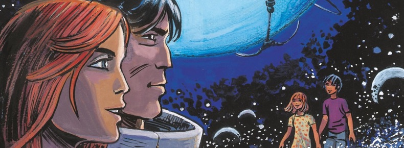 Valerian and Laureline v21 The Time Opener cover detail by Mezieres