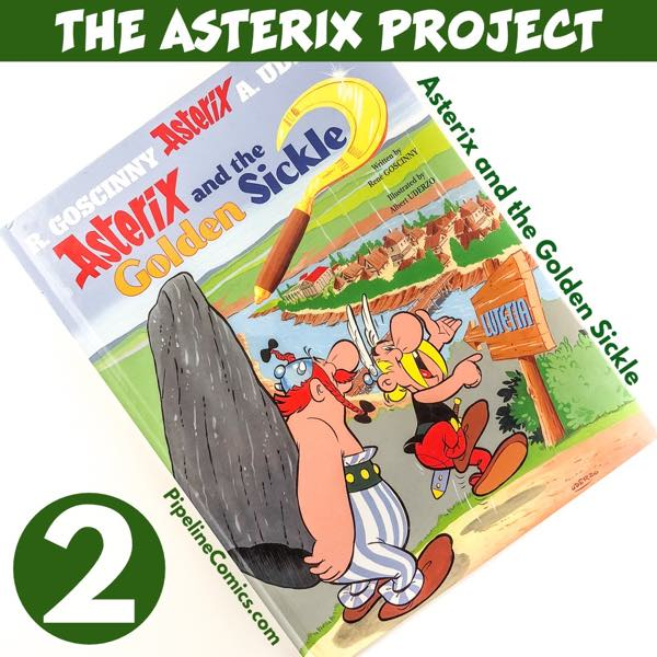 Asterix Project v2 Asterix and the Golden SIckle