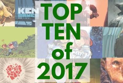 Top Ten Favorite European Franco-Belgian Comics of 2017 that I read and reviewed