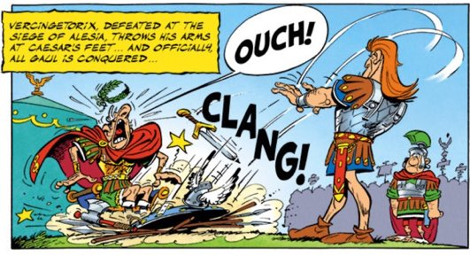 Asterix and the Chieftains Shield