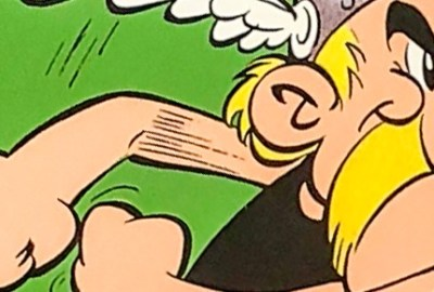 Asterix v1 Asterix the Gaul cover by Abert Uderzo