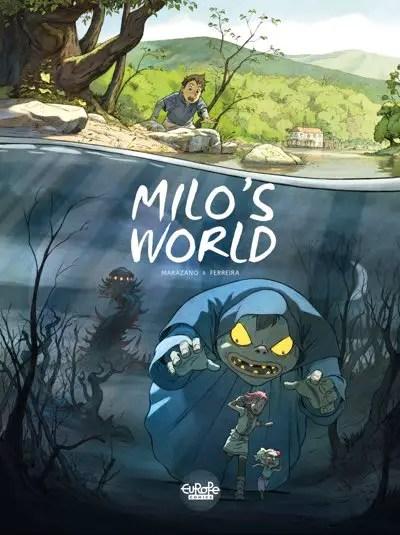 Milo's World v1 cover, drawn by Christophe Ferreira