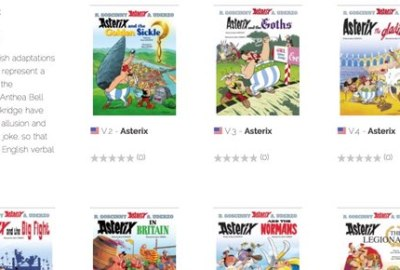 Asterix is now available for purchase on Izneo