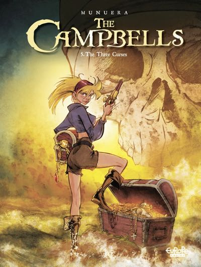 The Campbells v5 cover by Jose Luis Munuera and Sedyas