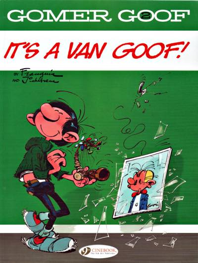 Gomer Goof by Andre Franquin. Volume 2 cover
