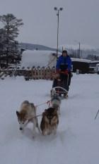 Runar tok med seg hundene på tur på søndagen