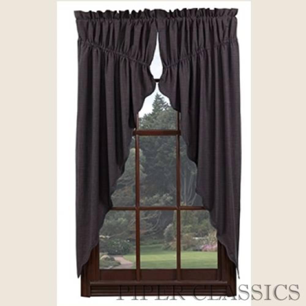 Primitive Drawstring Curtains