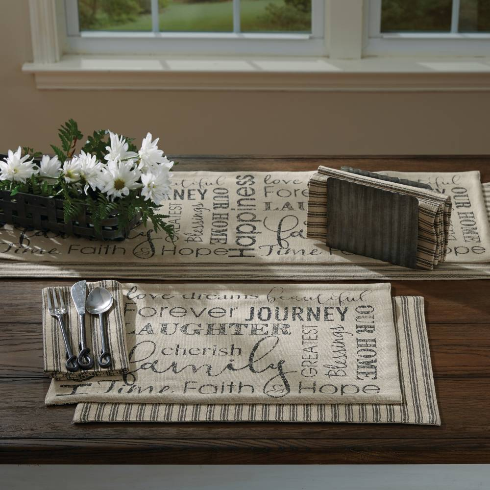 Farmhouse Country Kitchen Table Dover Table Runner 36