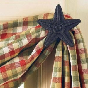 curtain rods hardware for country
