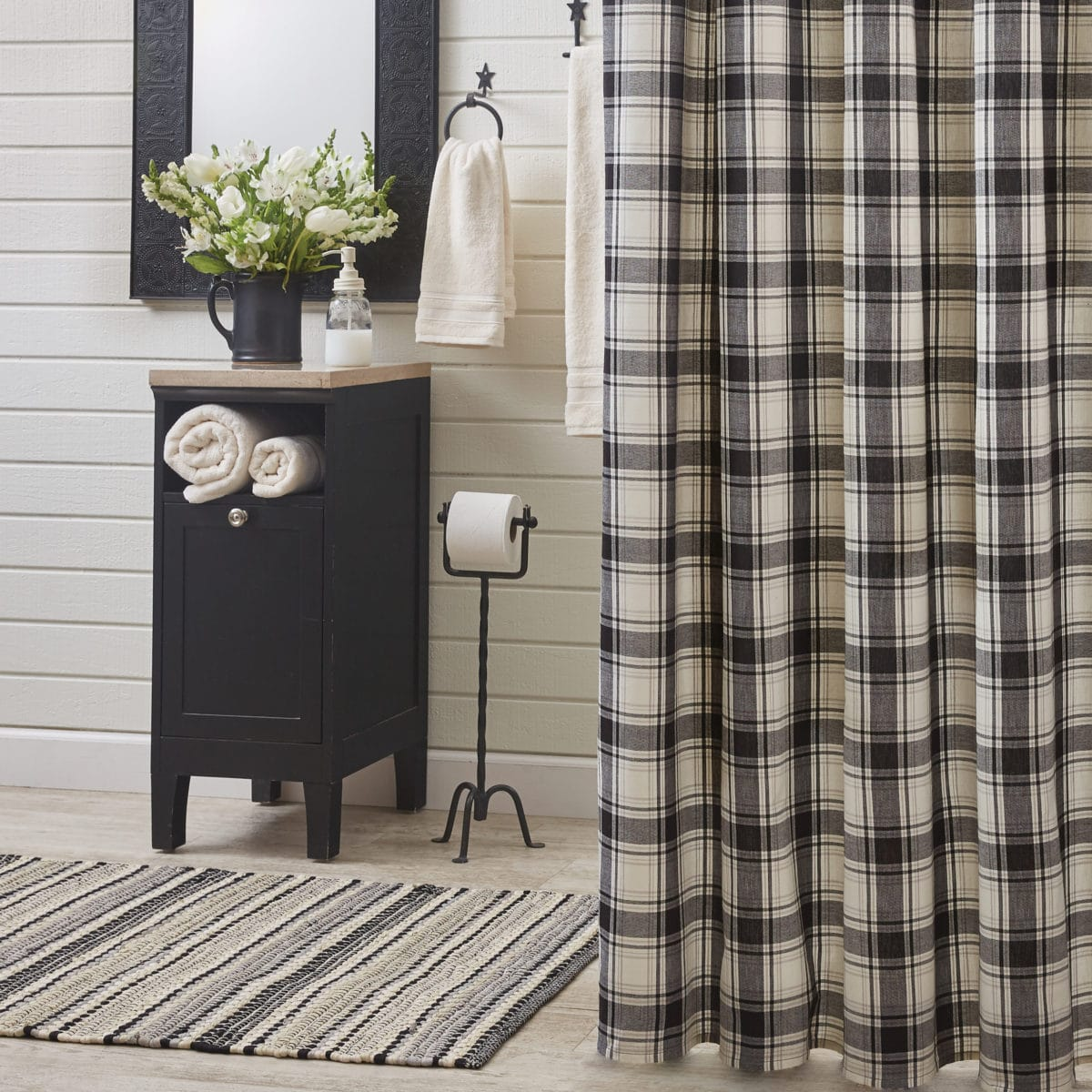 crossroads shower curtain