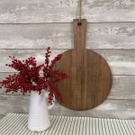 Large Round Hanging Cutting Board Piper Classics