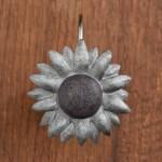 Antique Farmhouse Sunflower Shower Curtain Hooks Piper Classics