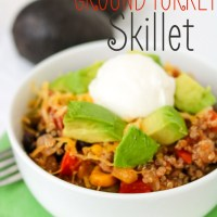 Quinoa Ground Turkey Skillet
