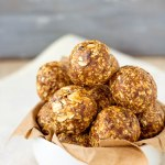 Peanut Butter Chocolate Protein Balls