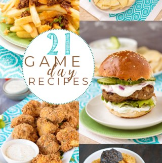 21 Gameday Recipes for your Super Bowl Party | Pipercooks.com