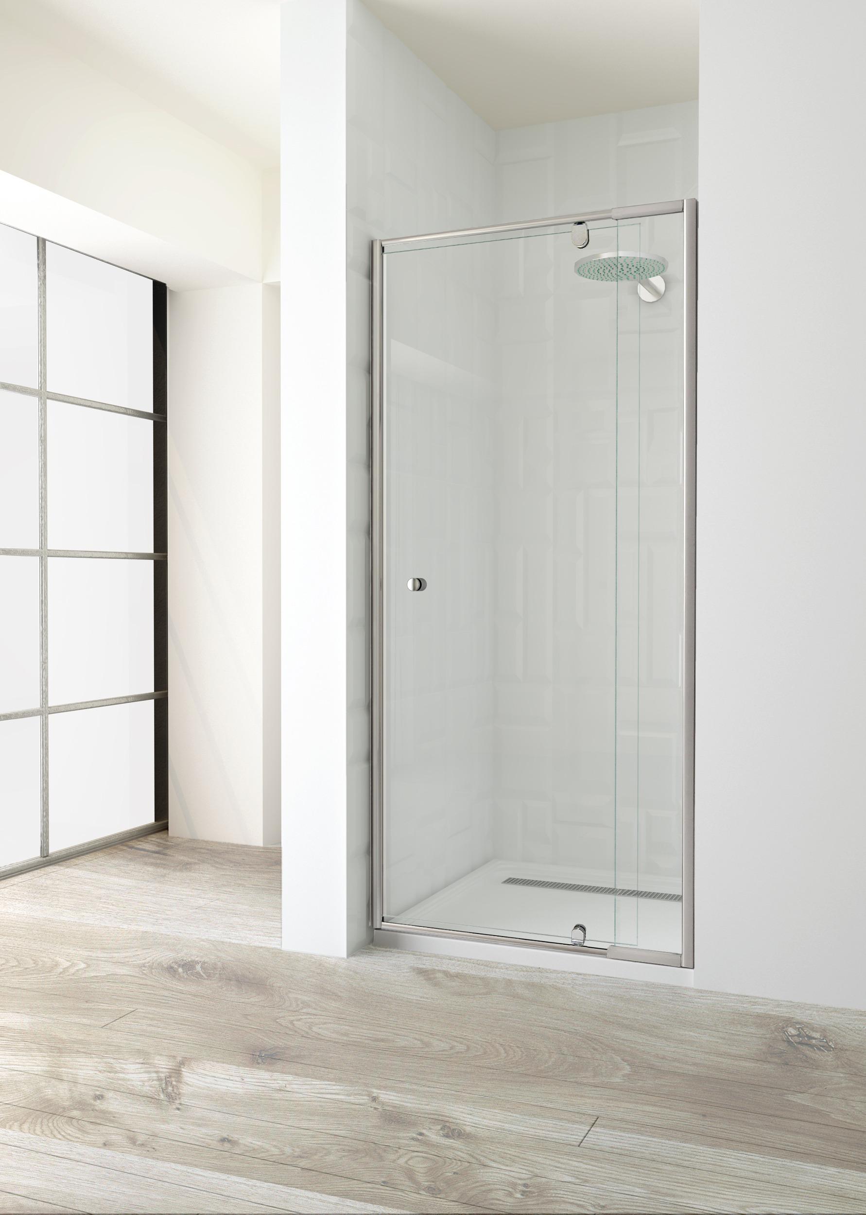 600 Front Pivot Door 1850h Elfreda Suite Shower Screen